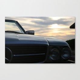Oh Lord, wont'cha buy me a Mercedez Benz Canvas Print
