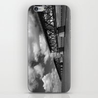 honda iPhone & iPod Skins featuring Bahia Honda Rail Bridge, Florida by SefoG