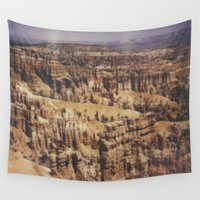 the national Wall Tapestries featuring Bryce Canyon National Park by Misha Ashton-Moore