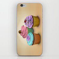 cupcakes iPhone & iPod Skins featuring Cupcakes!  by Megs stuff