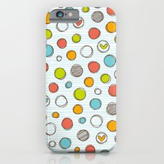 Another pattern with hearts. Slim Case iPhone 6s