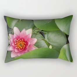 Lotus Flowe_pink1 Rectangular Pillow
