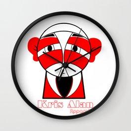 KA Samurai  Wall Clock