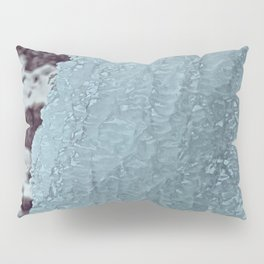 Ice Waterfall Pillow Sham