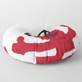 Hipster Elmo Floor Pillow