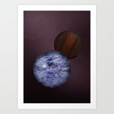 Dark Amsterdam Balls Art Print