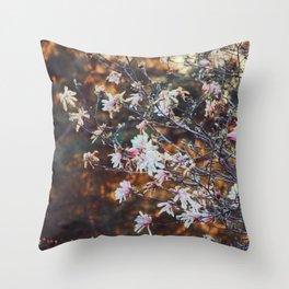 90's Magnolia Throw Pillow
