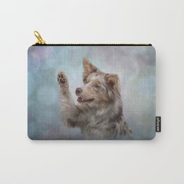 Drawing Dog breed Border Collie Carry-All Pouch