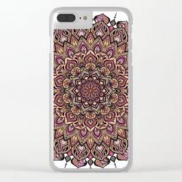 Mandala Innocenza Clear iPhone Case