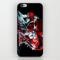 mustang iPhone & iPod Skins featuring Mustang by Conor O'Mara