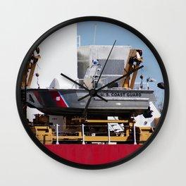 Coast Guard 2 Wall Clock