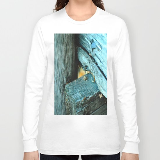 Wood Triangle Long Sleeve T-shirt