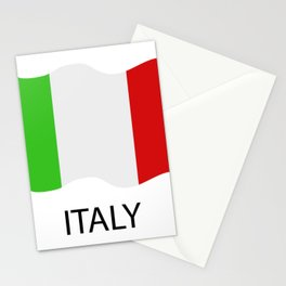 Italy flag Stationery Cards