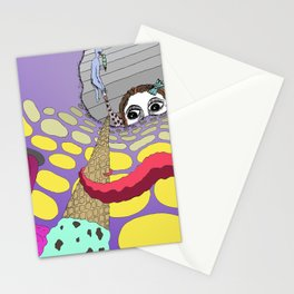 We All Scream for Ice Cream Stationery Cards