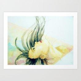 Looking Upwards Art Print