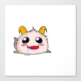 Poro League of Legends Canvas Print