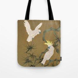 Wild Cockatoos Tote Bag