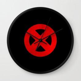Circled X Wall Clock