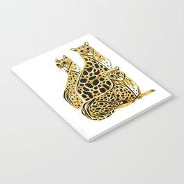 Gold Cheetahs Notebook
