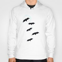 bats Hoodies featuring Bats by Jude's