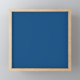 Classic Blue COLOR OF THE  YEAR 2020 Framed Mini Art Print