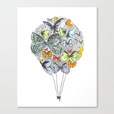 Bows & Butterflies Canvas Print