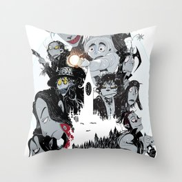 Decembersville PART 2 promo poster Throw Pillow