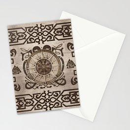 Vegvisir - Viking Compass Ornament #3 Stationery Cards