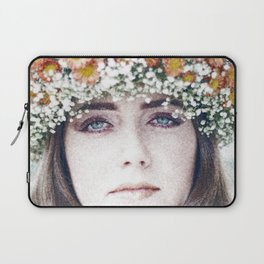Face flower Laptop Sleeve