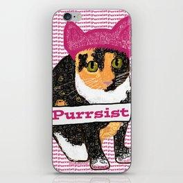 Purrsist Kitty iPhone Skin