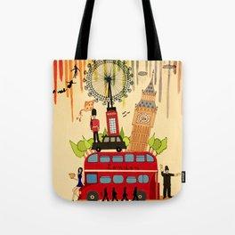 Rainbow Cities ~ London Tote Bag