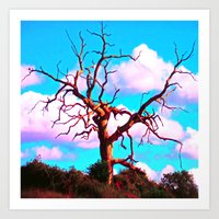 tree of life Art Prints featuring TREE LIFE by SPACEZING