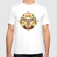 Visitations Mens Fitted Tee White MEDIUM