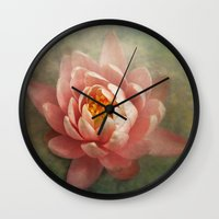 lotus Wall Clocks featuring Lotus by Pauline Fowler ( Polly470 )