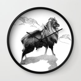 Tahr / Thar Wall Clock