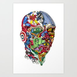 Heroic Mind Art Print