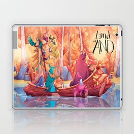 Land of AND - Boat Laptop & iPad Skin
