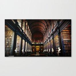 Bookworm's Dream Canvas Print