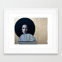 musa Framed Art Prints featuring MUSA by Michela Ezekiela Riba