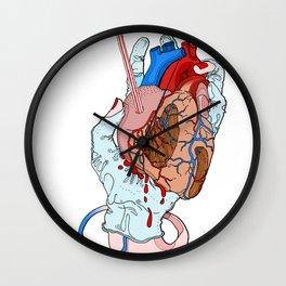 fresh heart Wall Clock