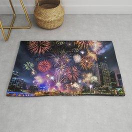 Fabulous Fireworks Rug