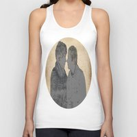 cabin pressure Tank Tops featuring PRESSURE POINT  by thescudders