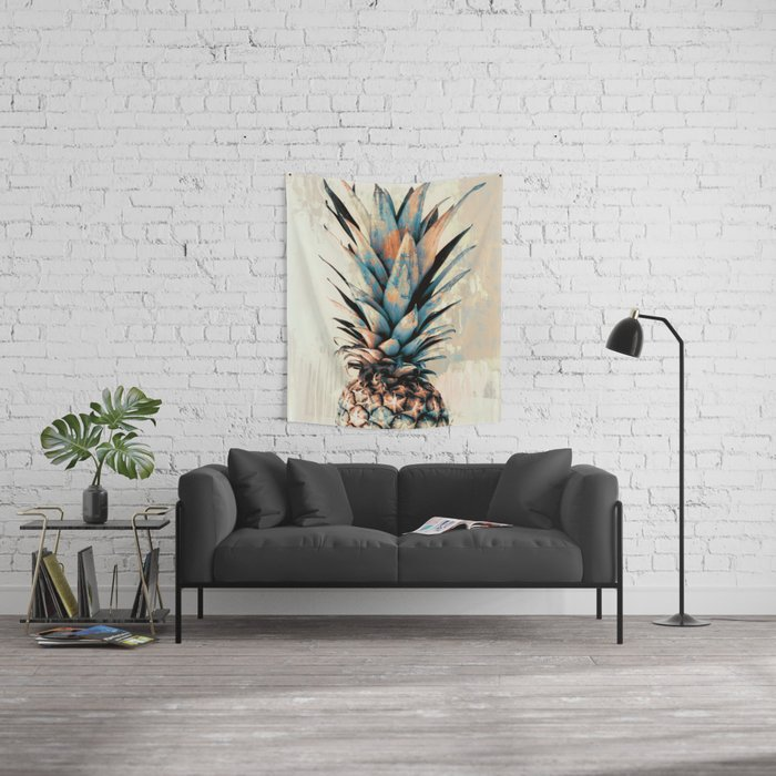 PINEAPPLE 3 Wall Tapestry