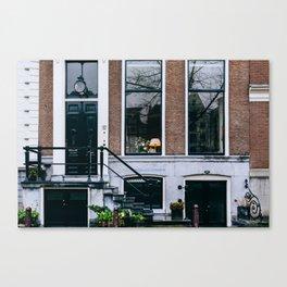 Grachtengordel - Amsterdam, The Netherlands - #11 Canvas Print