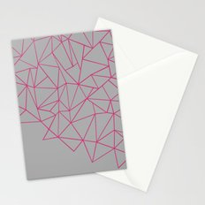 Ab Storm Hot Grey Stationery Cards