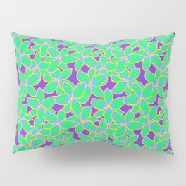 Bright Lily Floral Tropical Pattern Pillow Sham