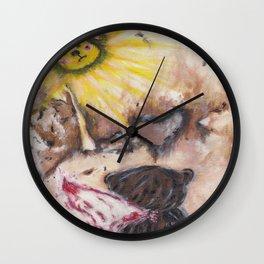 Angelbaby Wall Clock