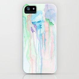 Watercolor Jellies iPhone Case