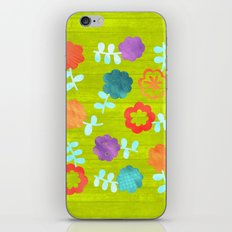Daisy Dallop II iPhone Skin
