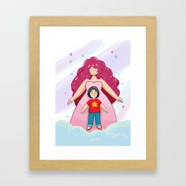 Rose + Steven Framed Art Print